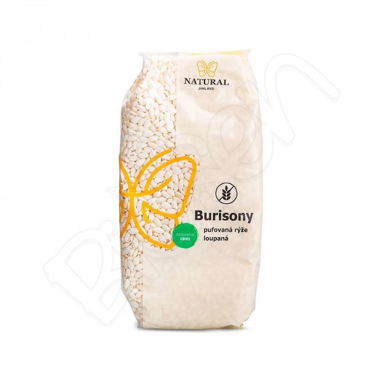 Burizony - pufovaná ryža BZL 150g Natural Jihlava