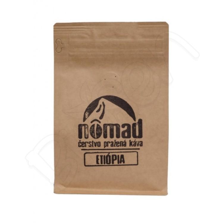 Pražená káva ETIÓPIA 250g Nômad