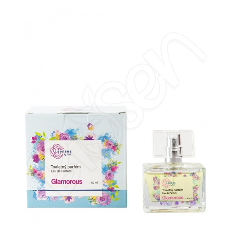 Toaletný parfém SENSES – Glamorous 30ml Kvitok
