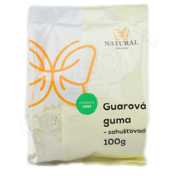 Guarová guma zahusťovadlo 100g Natural Jihlava