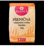Pšeničná celozrnná múka hladká BIO 1kg Biomila