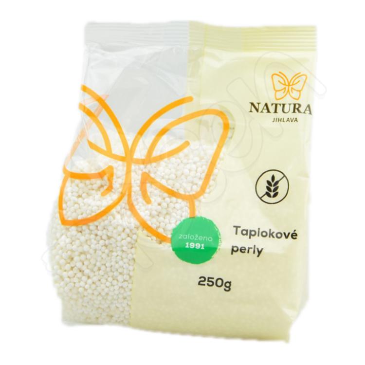 Tapiokové perly - škrob 250g Natural Jihlava