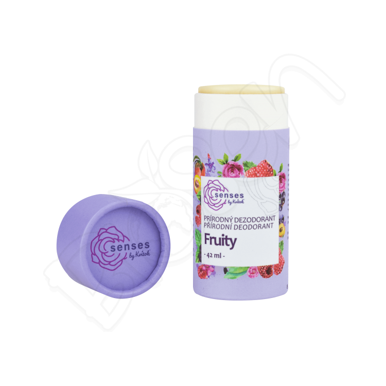 Tuhý Dezodorant SENSES – Fruity 42ml Kvitok