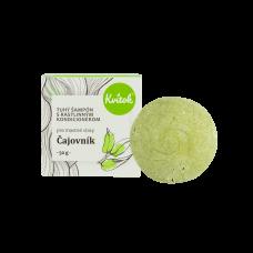Tuhý šampón s kondicionérom - čajovník (pre MASTNÉ vlasy) 50g Kvitok
