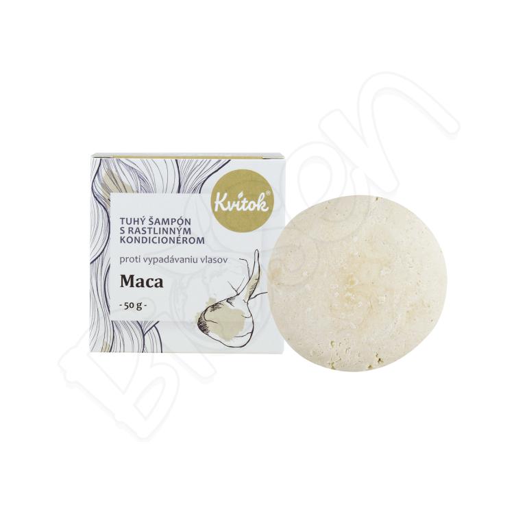Tuhý šampón s kondicionérom - maca (proti VYPADÁVANIU vlasov) 25g Kvitok