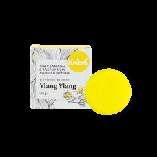 Tuhý šampón s kondicionérom - ylang ylang (SVETLÉ vlasy) 25g Kvitok
