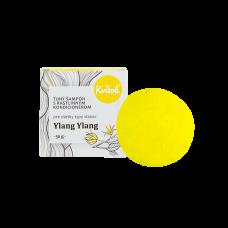 Tuhý šampón s kondicionérom - ylang ylang (SVETLÉ vlasy) 50g Kvitok
