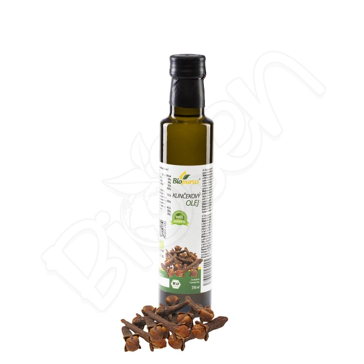 Klinčekový olej BIO 250ml Biopurus