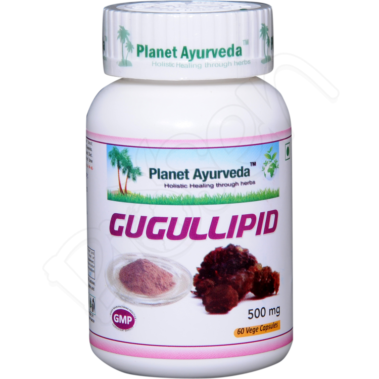 Gugulipid Kapsule 60ks Planet Ayurveda