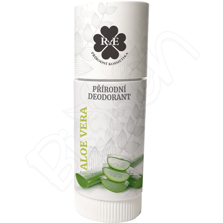 Prírodný krémový dezodorant s vôňou aloe vera ROLL ON 25ml RaE