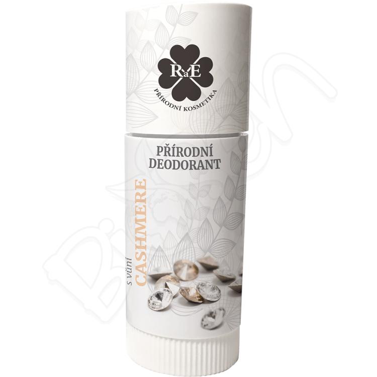 Prírodný krémový dezodorant s vôňou cashmere ROLL ON 25ml RaE
