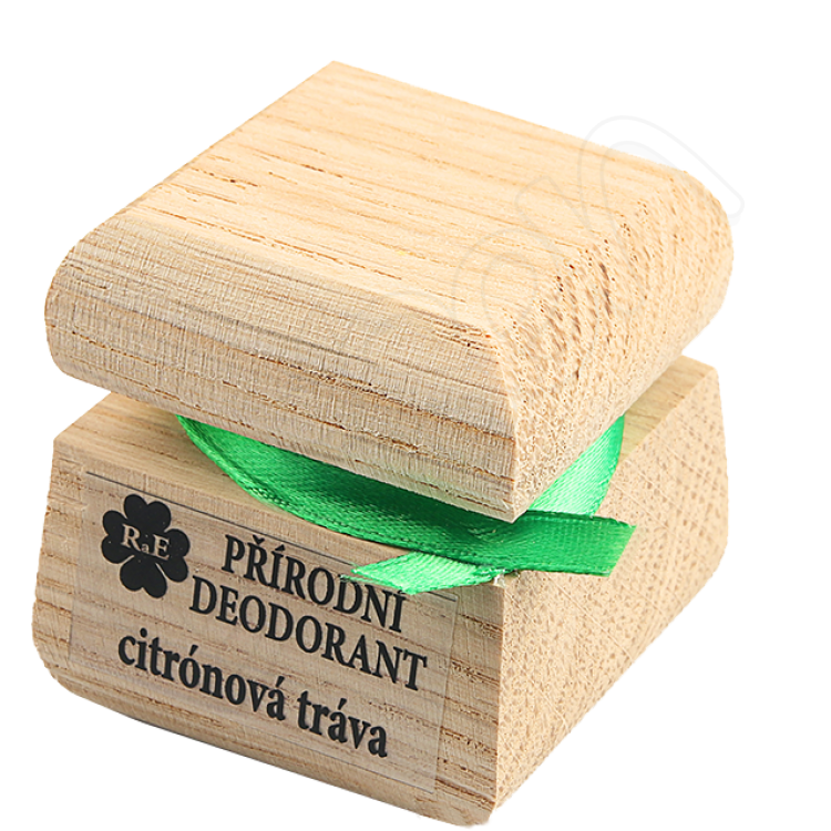Prírodný krémový dezodorant s vôňou citrónová tráva 15 ml RaE