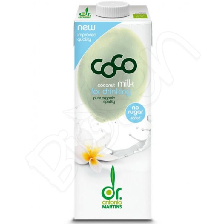Kokosové mlieko BIO na pitie + Kalcium 1L dr. Antonio Martins
