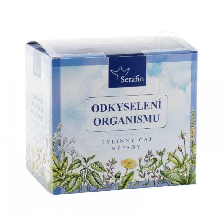 Odkyslenie organizmu - bylinný sypaný čaj 2x50g Serafin