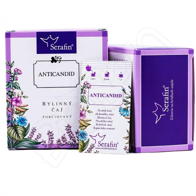 Anticandid porciovaný čaj 15x2,5g Serafin