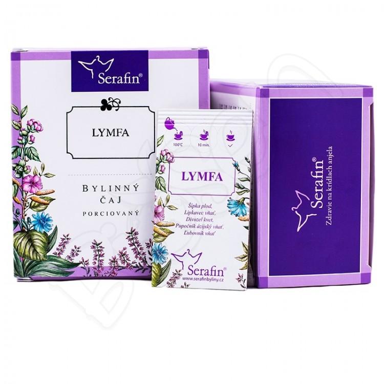 Lymfa porciovaný čaj 15x2,5g Serafin