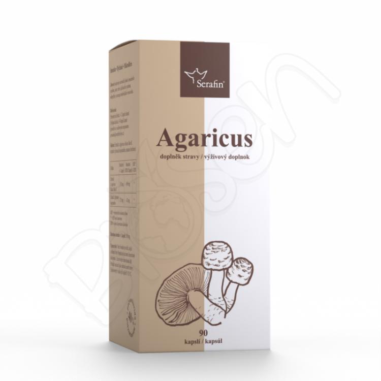 Agaricus so skorocelom - 40% polysacharidov 90ks Serafin