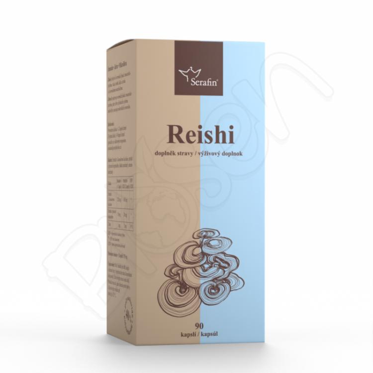 Reishi - 40% polysacharidov 90ks Serafin