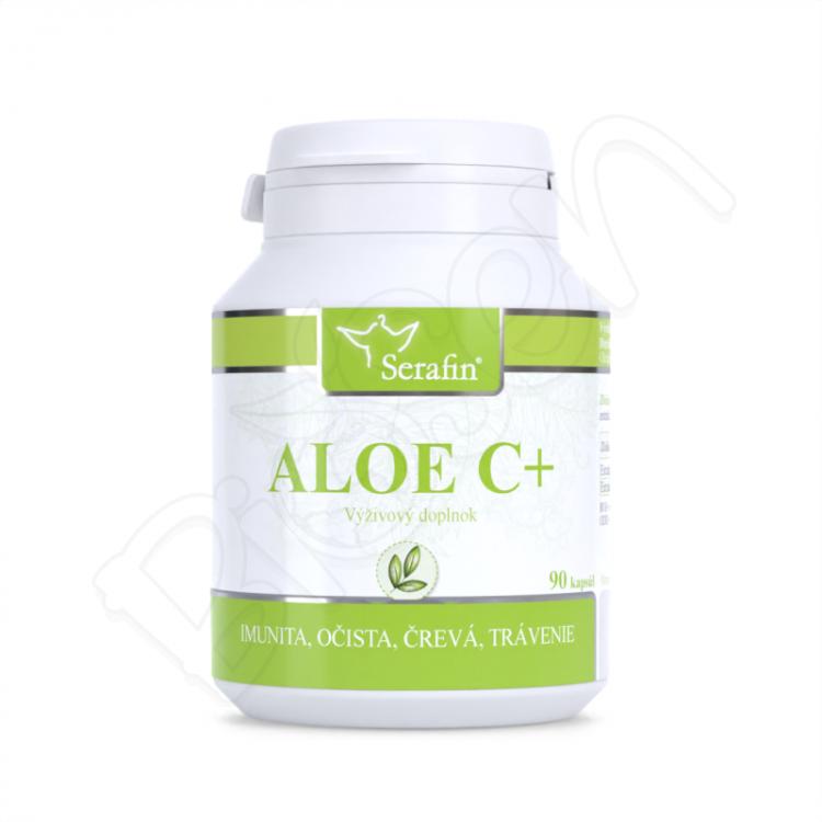 Aloe C+ - prírodné kapsule 90ks Serafin