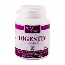 Digestív - prírodné kapsule 90ks Serafin