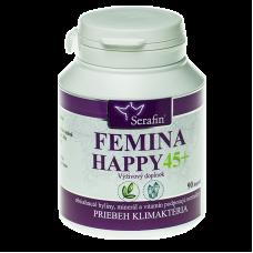 Femina happy 45+ - prírodné kapsule 90ks Serafin