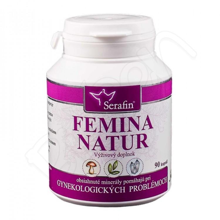 Femina natur - prírodné kapsule 90ks Serafin