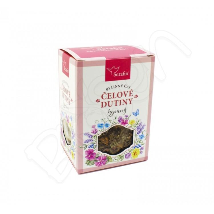 Čelové dutiny sypaný čaj 50g Serafin