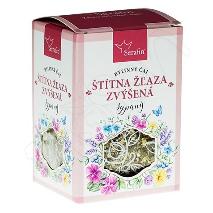 Štítna žľaza zvýšená sypaný čaj 50g Serafin
