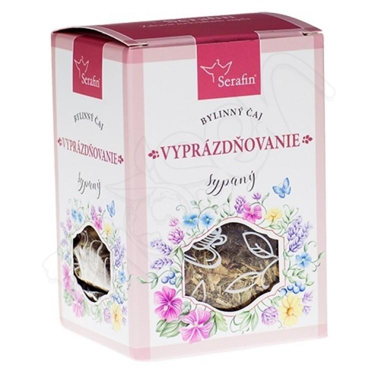 Vyprázdňovanie sypaný čaj 50g Serafin