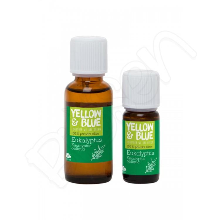 Silica eukalyptová, Yellow & Blue 10ml