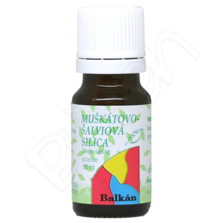 Muškátovo-šalviová silica, Hanus 10ml