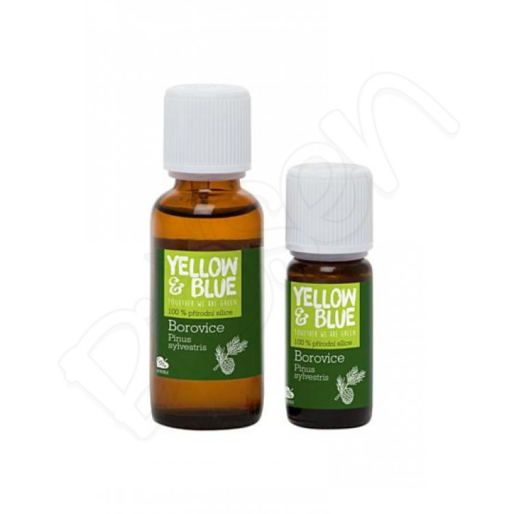 Silica Borovica, Yellow & Blue 10ml