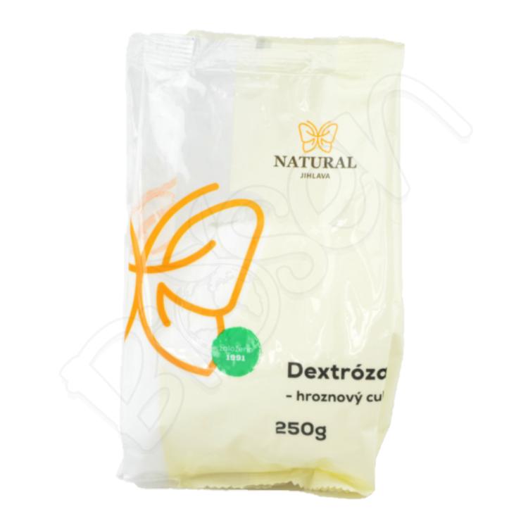 Dextróza - hroznový cukor 250g Natural Jihlava