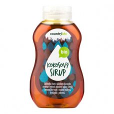 Kokosový sirup BIO 250ml Country Life
