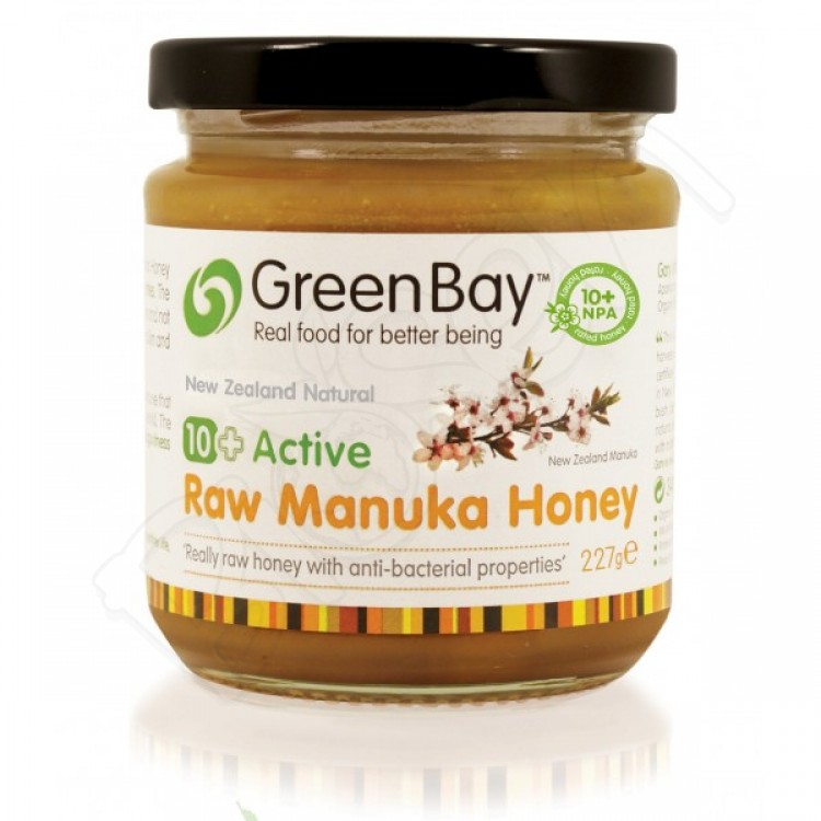 10+ Active Manuka med 250g RAW GreenBay