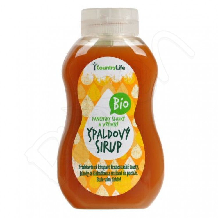 Špaldový sirup BIO 250ml Country Life