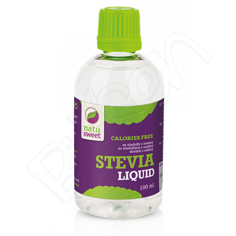 Stevia - tekutá 100ml Natusweet