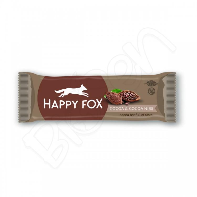 HAPPY FOX – Kakaová tyčinka s kakaovými bôbami 50g Happy Life