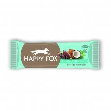 HAPPY FOX – Kakaová tyčinka s kokosom 50g Happy Life
