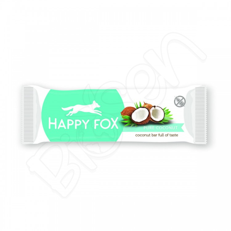 HAPPY FOX – Kokosová tyčinka 40g Happy Life