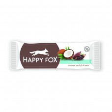HAPPY FOX – Kokosová tyčinka s kakaom 40g Happy Life