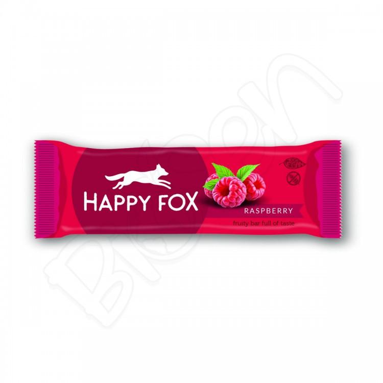 HAPPY FOX – Malinová tyčinka 50g Happy Life