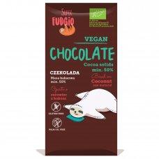 Kokosová čokoláda BIO 80g SUPER FUDGIO
