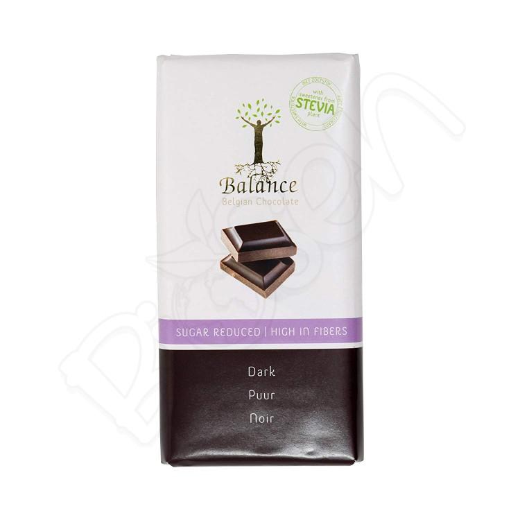Čokoláda horká so stéviou 85g Balance
