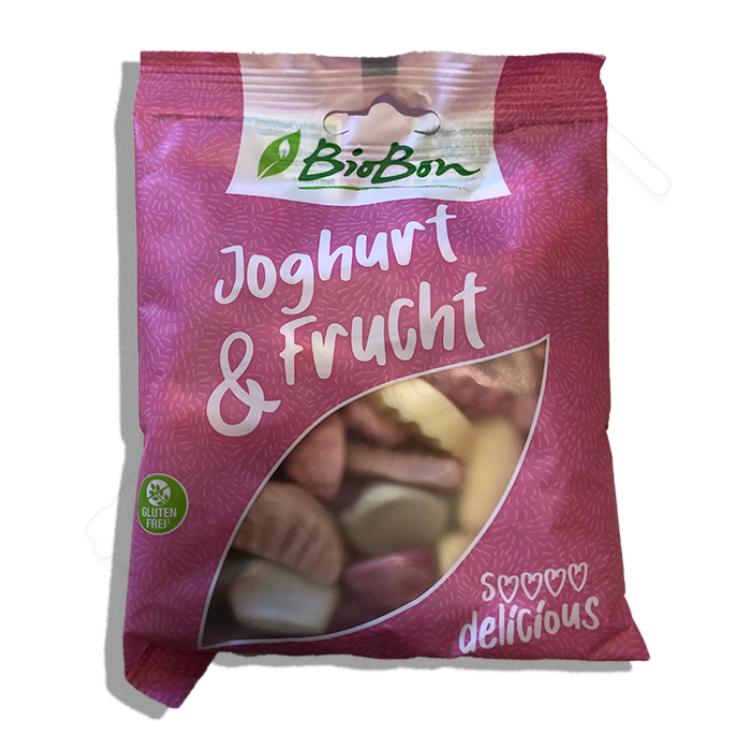 Cukríky jogurtoví dinosauri BIO 80g Biobon