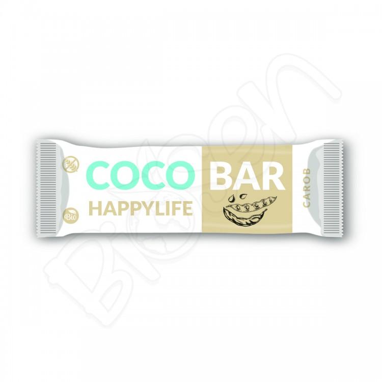 COCO BAR – Kokosová tyčinka s karobom BIO 40g Happy Life