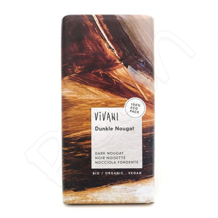 Čokoláda HORKÁ nugátová BIO 100g Vivani