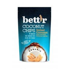 Kokosové chipsy so slaným karamelom BIO 70g Bettr