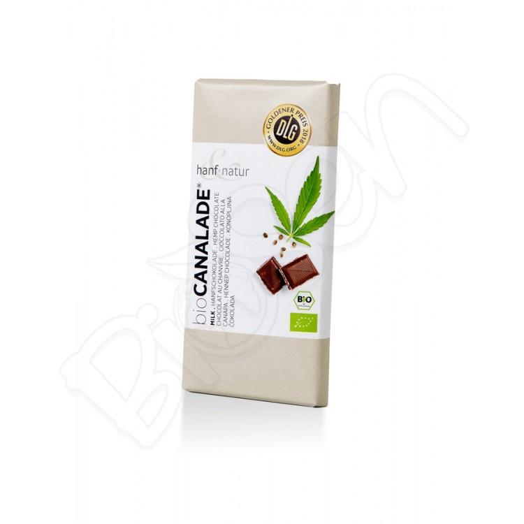 Mliečna konopná čokoláda BIO 100g Hanf&Natur