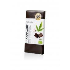 Horká konopná čokoláda BIO 100g Hanf&Natur